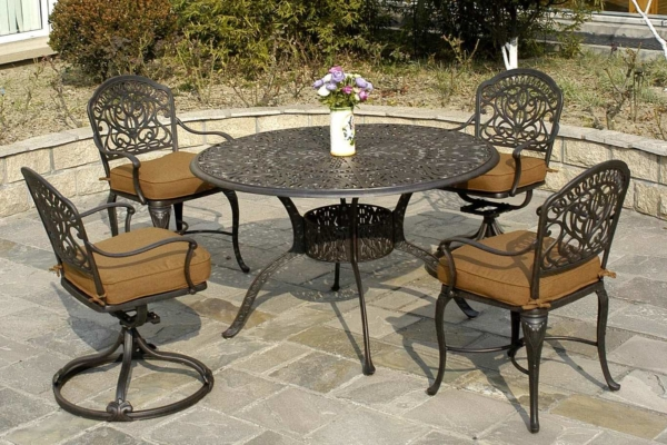 Beau Hanamint U2013 Tuscany Dining Sets U2013 Round Table Set