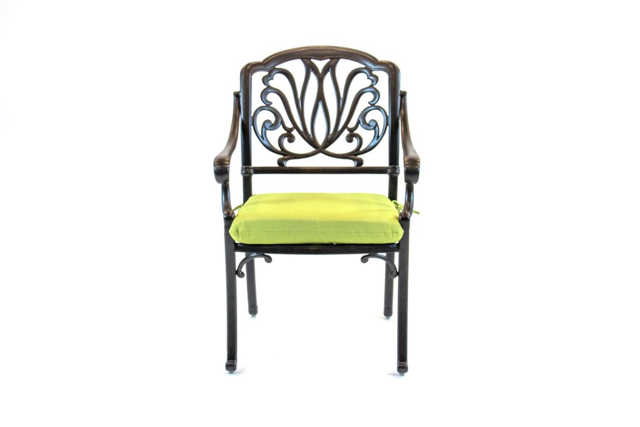Hanamint Biscayne Aluminum Dining Chair Premium Patio