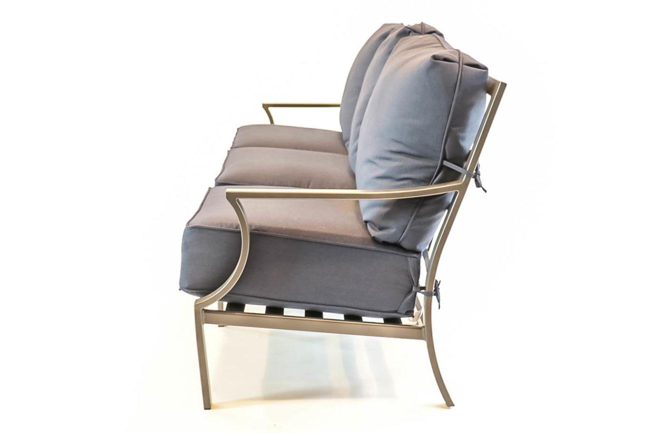Hanamint Hudson Aluminum Sofa Premium Patio