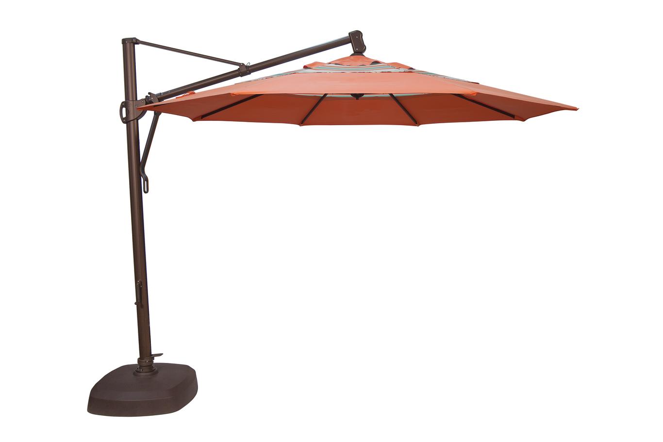 treasure garden cantilever umbrella akz 11 octagonal umbrella - Treasure Garden Umbrella