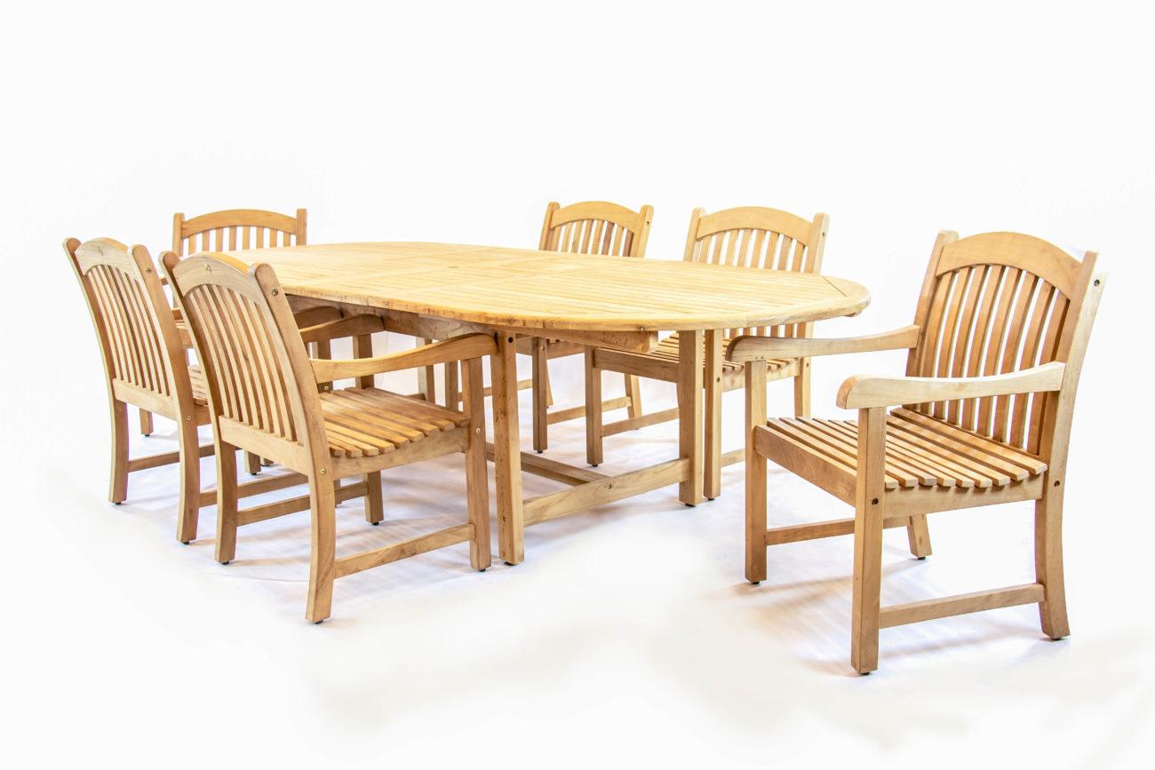 Scancom Kalimantan 87 118 Double Extension Table