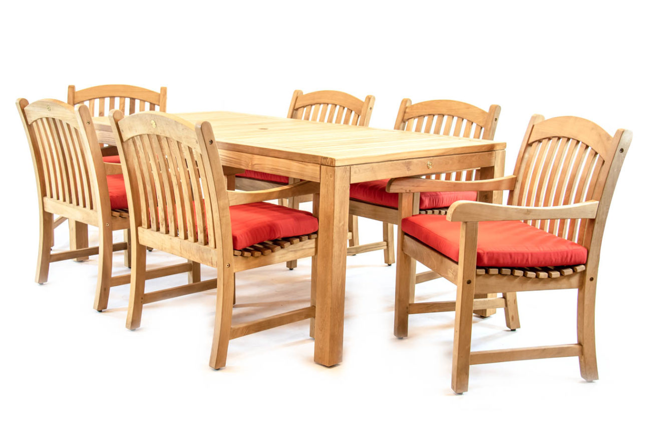 Scancom Rinjani 79 X 39 Rectangle Table Sumbawa