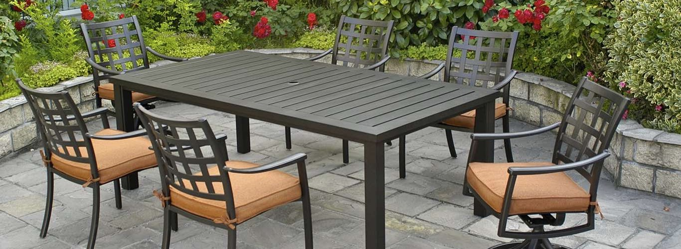 Sherwood Table And Stratford Chair Patio Furniture Collection By Hanamint